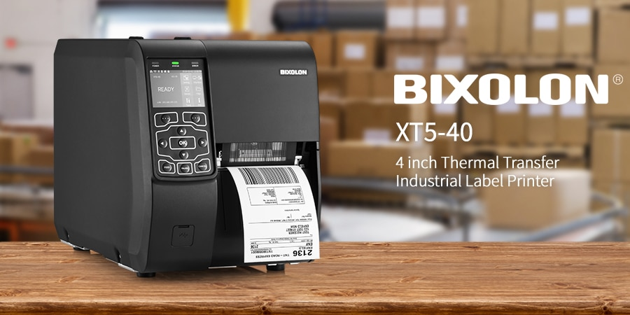 Introducing the BIXOLON XT5-40 Industrial Desktop Label